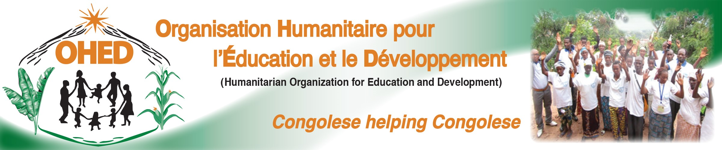 Humanitarian Organization for Education and Development (OHED) Logo